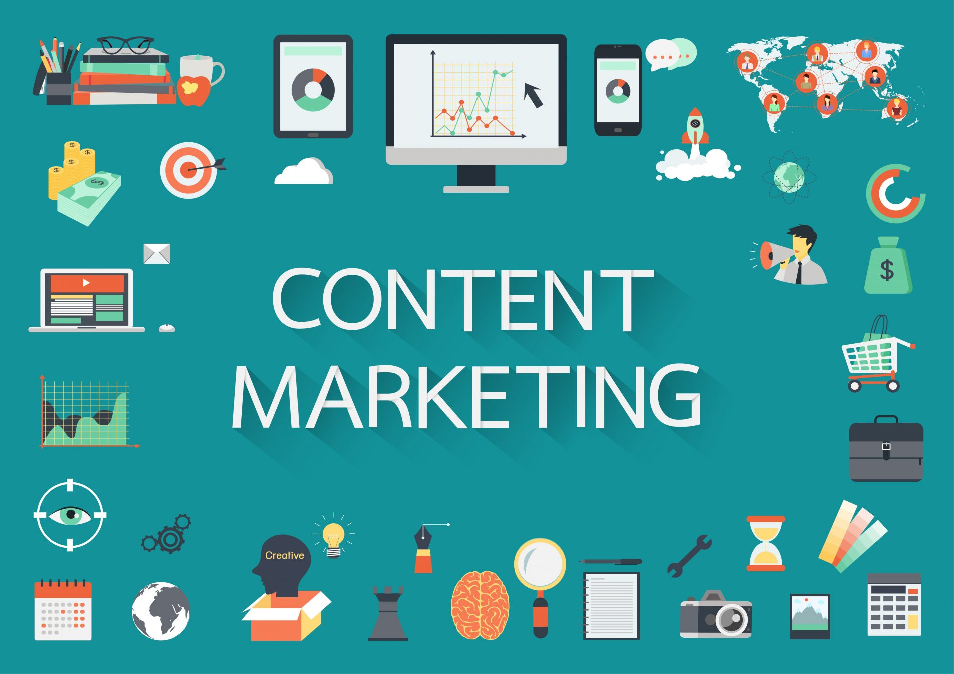 content strategy 101 main image; vector images