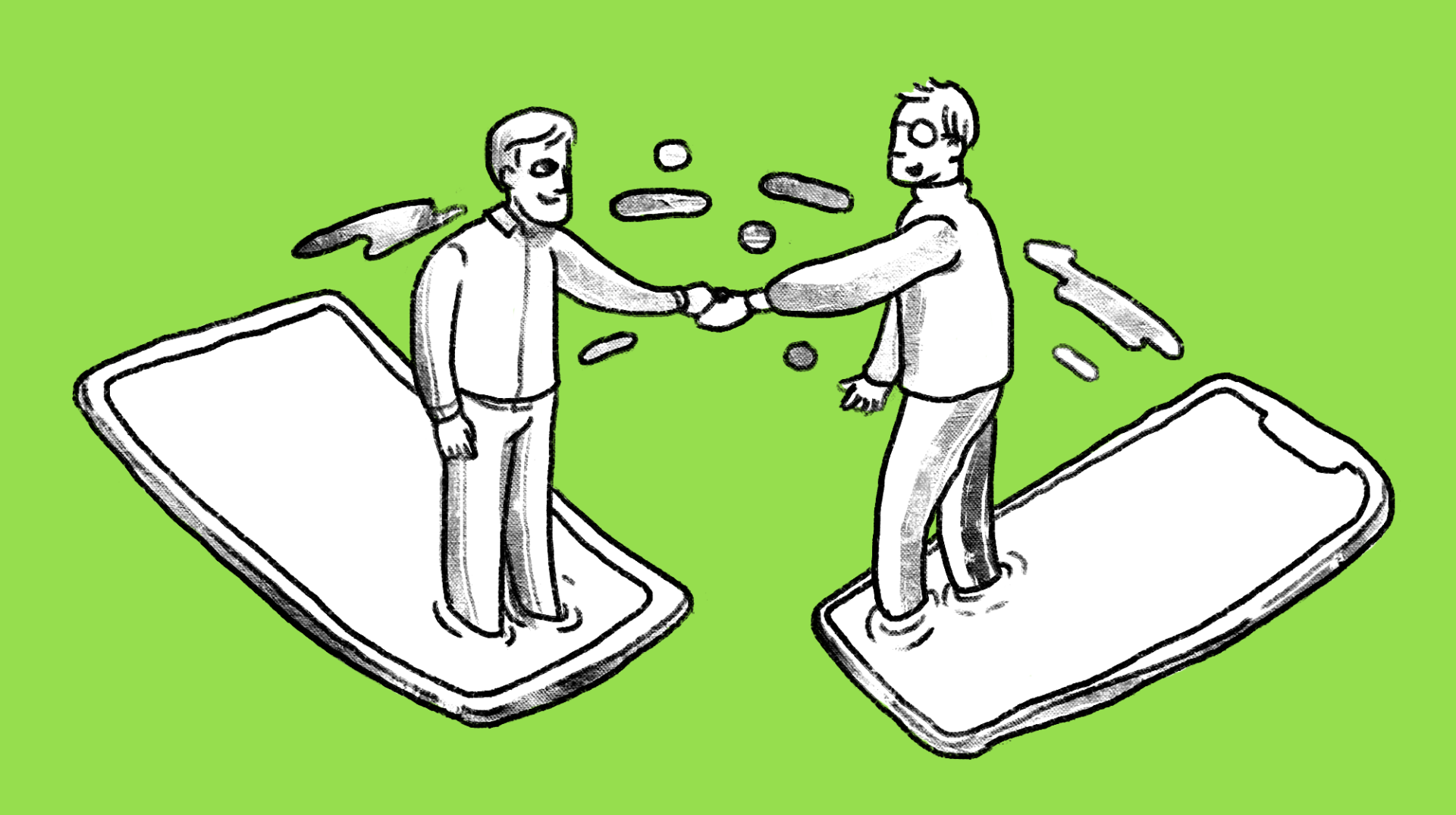 two-men-shaking-hands-b2b-lead-nurturing-tips-for-HubSpot-newbies-main-image